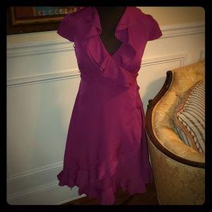 Purple party dress! 💃